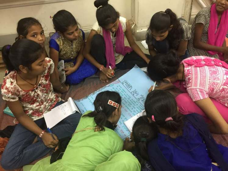 Reproductive Health training for girls